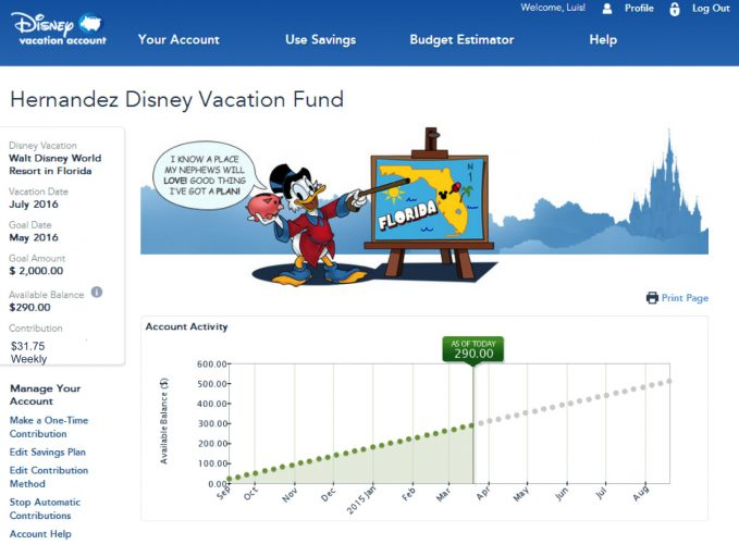 How Does The Disney Vacation Account Work