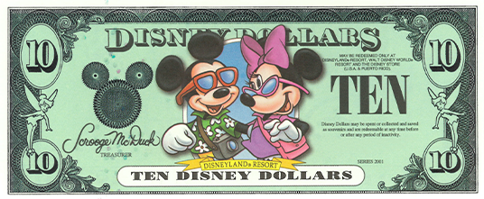 Where Can I Purchase Disney Dollars