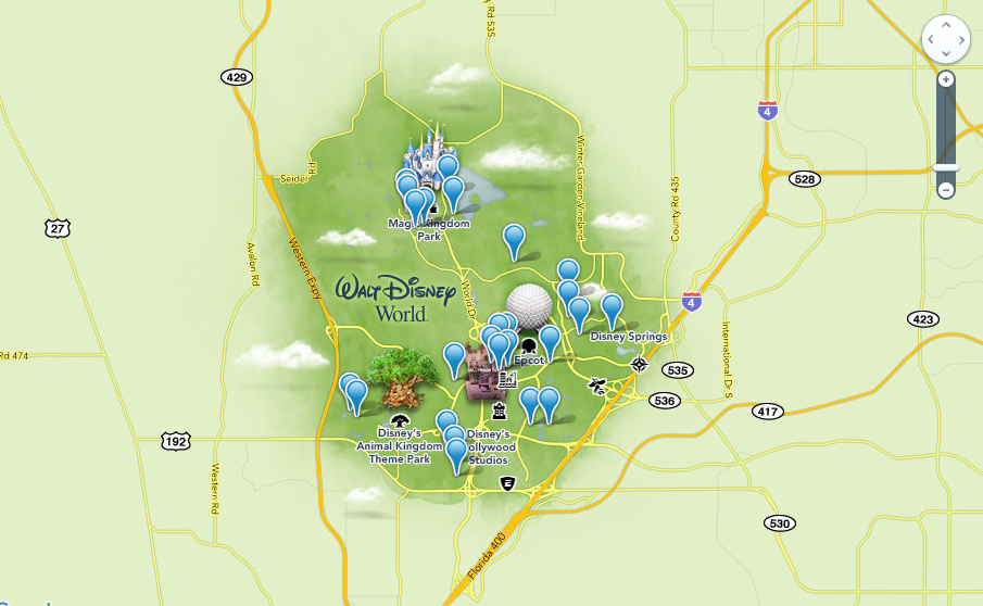 Where can i find a map of all of the resorts at disney world gumiabroncs Gallery