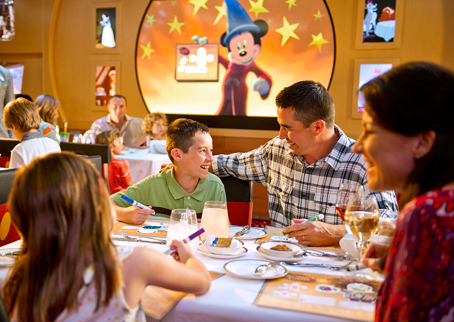 What Exactly Is Rotational Dining On The Disney Cruise Line