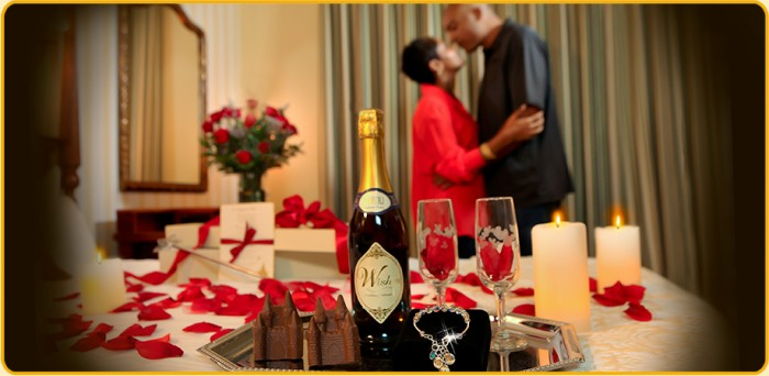 What are in room celebrations at the walt disney world for Decorate hotel room romantic