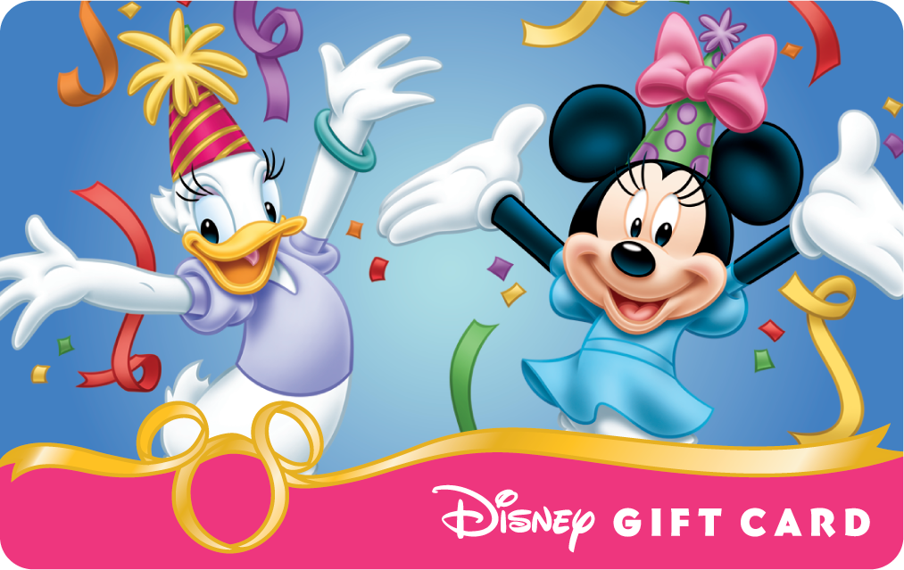 Can i combine balances on my disney gift cards
