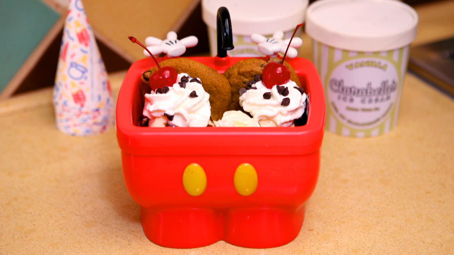 Disney Kitchen Sink Sundae