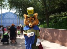Epcot Character Training