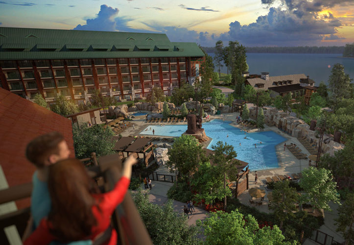 What changes have been made to wilderness lodge and villas for Villas wilderness lodge
