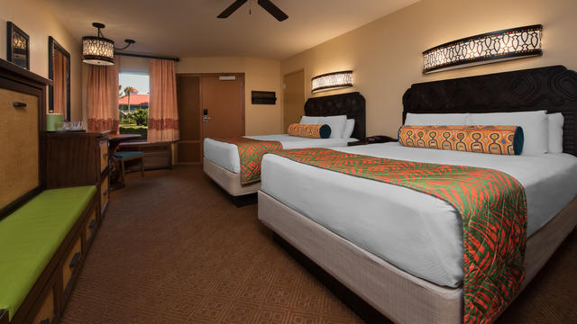 What Resorts At Walt Disney World Offer Rooms That Sleep 5