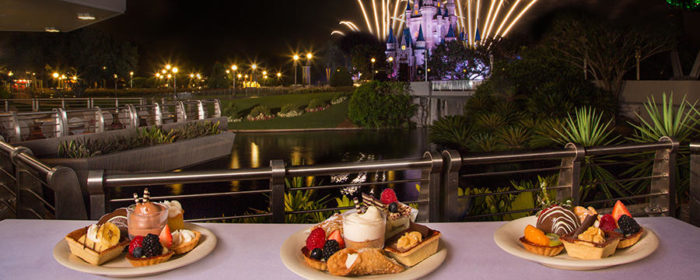 How do disney world 39 s dessert parties work and are they for Terrace party