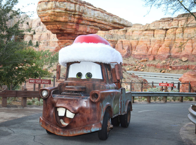Reasons Why Cars Land Is One Of Our Favorite Places To Be At - 6 christmas attractions you can visit year round