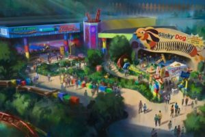 Toy Story Soft Opening